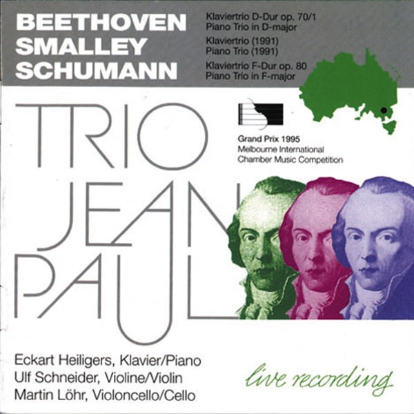 Trio Jean Paul: BEETHOVEN, SMALLEY, SCHUMANN
