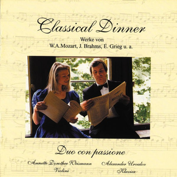 Duo Con Passione: CLASSICAL DINNER