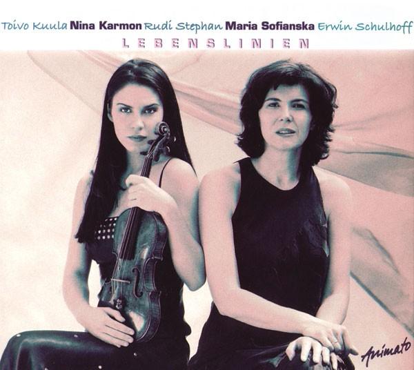 Nina Karmon (Violine), Maria Sofianska (Klavier): LEBENSLINIEN