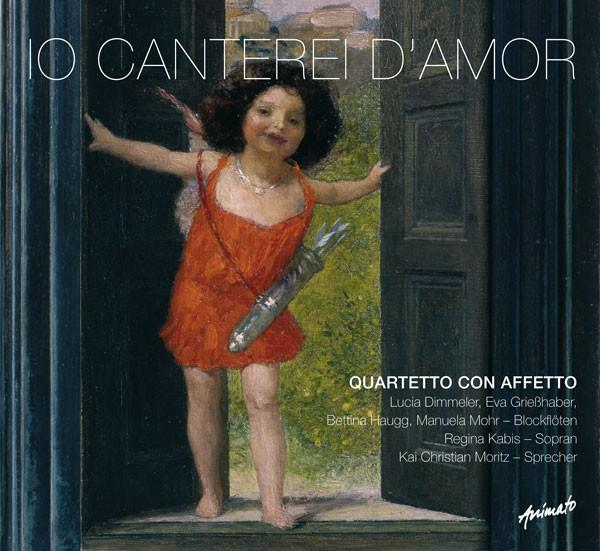 Quartetto con Affetto: IO CANTEREI D'AMOR
