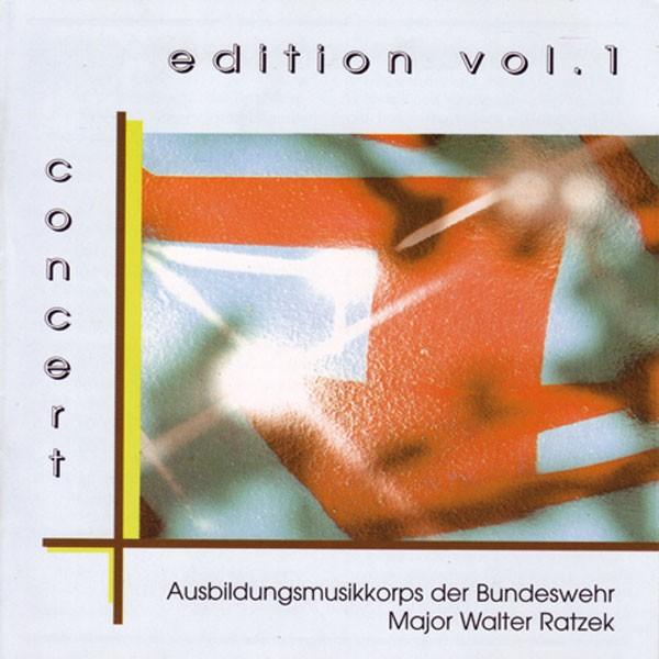 Ausbildungsmusikkorps Hilden, Ltg.: Walter Ratzek: Concert Edition Vol. 1