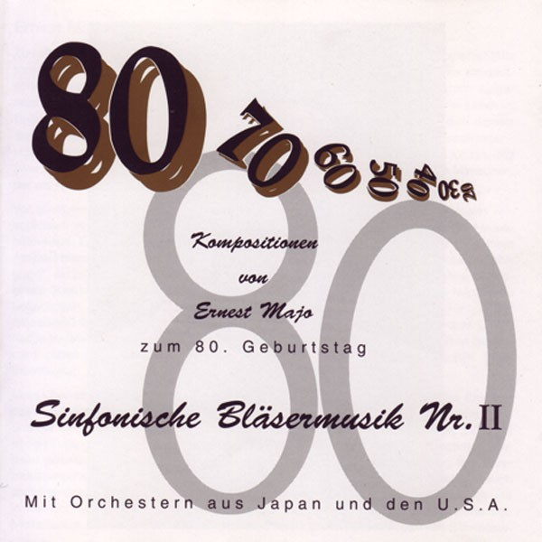 Ernest Majo: Sinfonische Bläsermusik Nr.II