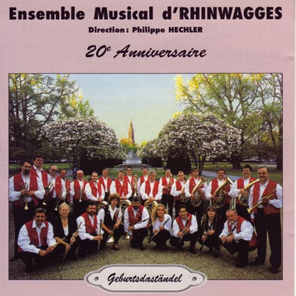 Ensemble Musical d'Rhinwagges, Dir.: Philippe Hechler: Geburtsdaständel