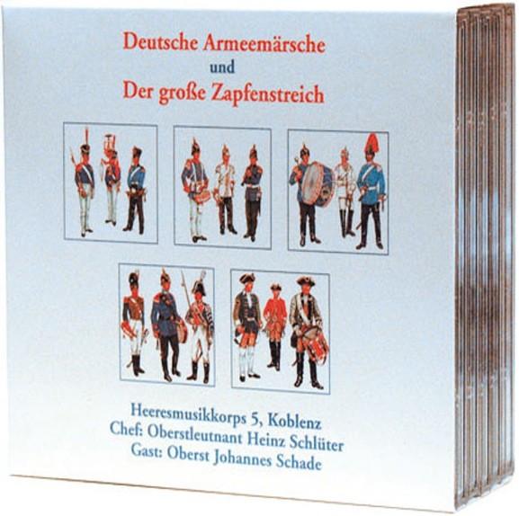 Heeresmusikkorps 5 Koblenz: Ltg. Heinz Schlüter: Deutsche Armeemärsche und der große Zapfenstreich