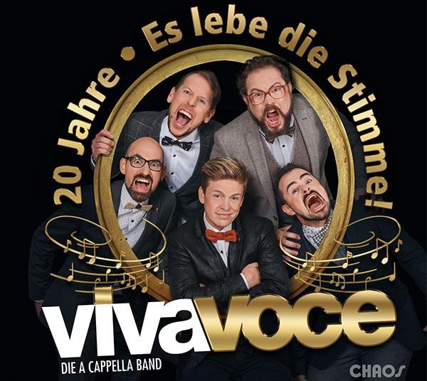 VIVA VOCE die a cappella Band: 20 JAHRE - ES LEBE DIE STIMME!