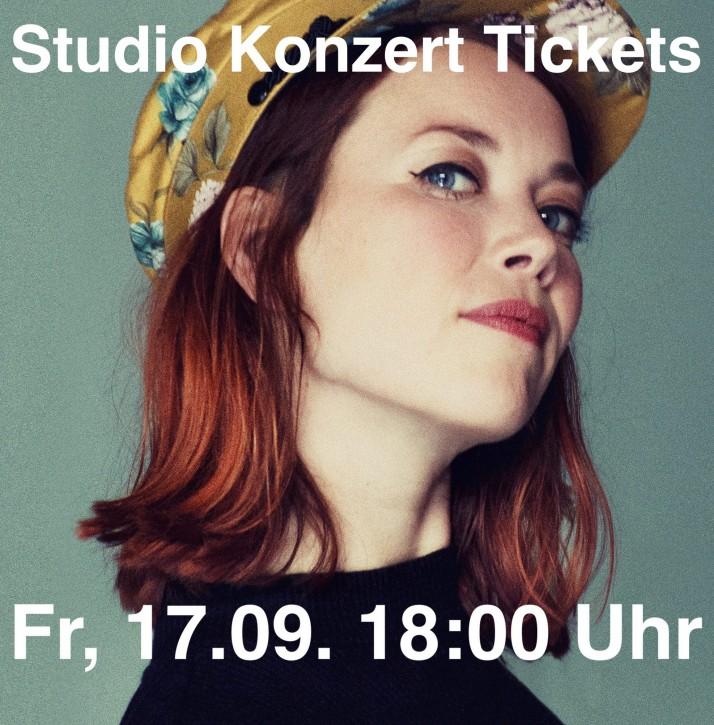 Studio Konzert Ticket - Magdalena Ganter & Die Herren von Montreux - 17. September 2021 - 18 Uhr