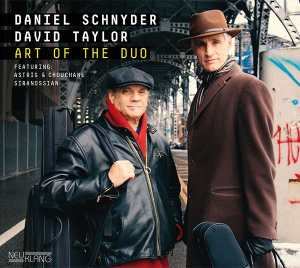 Daniel Schnyder & David Taylor: ART OF THE DUO
