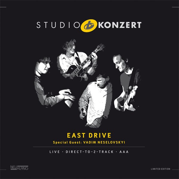 East Drive: STUDIO KONZERT [180g Vinyl LIMITED EDITION]