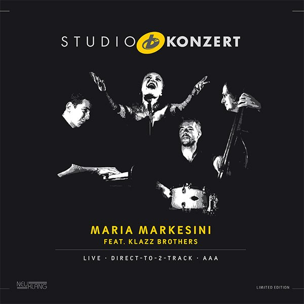 Maria Markesini feat. Klazz Brothers: STUDIO KONZERT [180g Vinyl LIMITED EDITION]