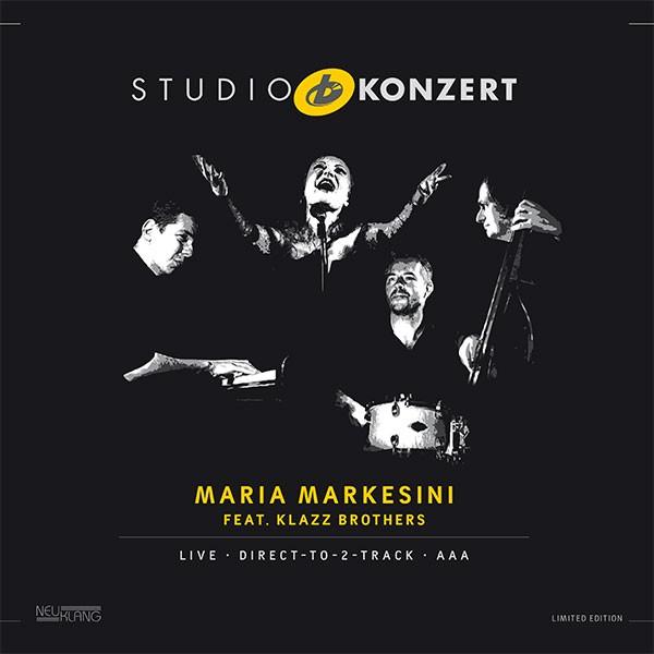 Maria Markesini feat. Klazz Brothers: STUDIO KONZERT [180g Vinyl LIMITED EDITION]