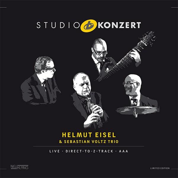 Helmut Eisel & Sebastian Voltz Trio: STUDIO KONZERT [180g Vinyl LIMITED EDITION]