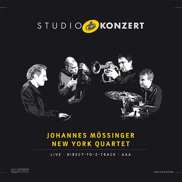 Johannes Mössinger New York Quartet: STUDIO KONZERT [180g Vinyl LIMITED EDITION]