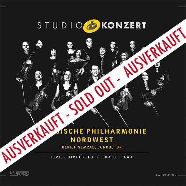 Klassische Philharmonie Nordwest: STUDIO KONZERT [180g Vinyl LIMITED EDITION]