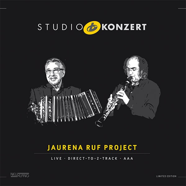 Jaurena Ruf Project: STUDIO KONZERT [180g Vinyl LIMITED EDITION]