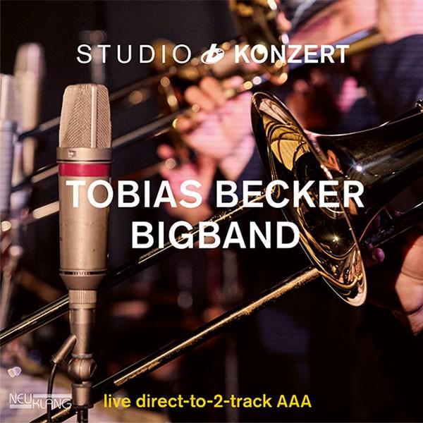 Tobias Becker Bigband: feat Cherry Gehring: STUDIO KONZERT [180g Vinyl LIMITED EDITION]