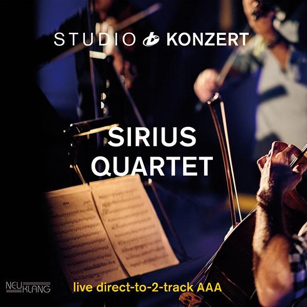 Sirius Quartet: STUDIO KONZERT [180g Vinyl LIMITED EDITION]