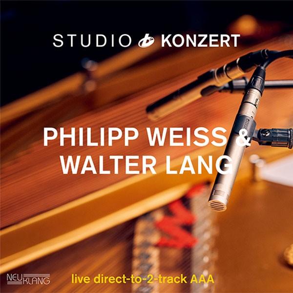 Philipp Weiss & Walter Lang: STUDIO KONZERT [180g Vinyl LIMITED EDITION]