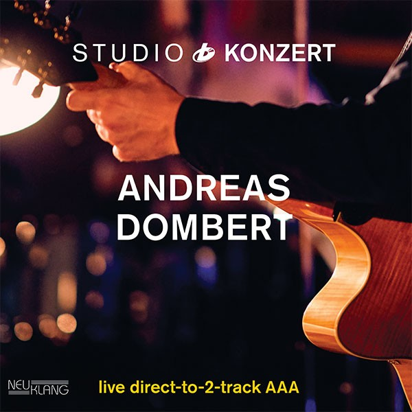 ANDREAS DOMBERT: STUDIO KONZERT [180g Vinyl LIMITED EDITION]