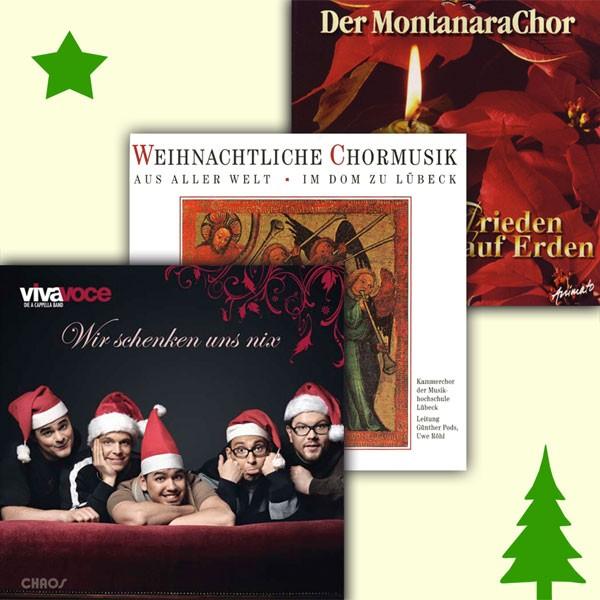 Feiertags-CD-Paket: FROHE WEIHNACHT