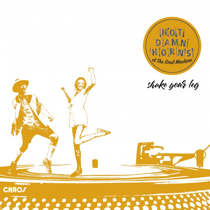 Hot Damn Horns & The Soul Machine: SHAKE YOUR LEG (Vinyl)